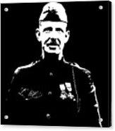 Sergeant Alvin York Graphic Acrylic Print