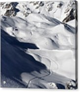 Serre Chevalier In The French Alps Acrylic Print