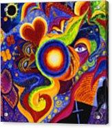 Magical Eclipse Acrylic Print