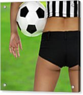 Sexy Referee Acrylic Print