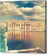 Shabby Chic Versailles Palace Gardens Acrylic Print