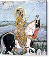 Shah Jahan (1592-1666) Acrylic Print