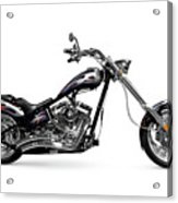 Shiny Chopper Acrylic Print