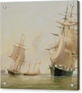 Ship Painting Acrylic Print