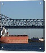 Shipping - New Orleans Louisiana Acrylic Print