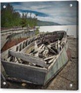 Shipwreck At Neys Provincial Park Acrylic Print