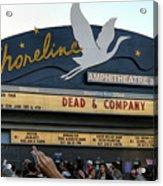 Shoreline Amphitheatre - Dead And Company Acrylic Print