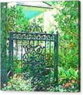 Side Gate Acrylic Print