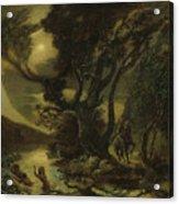 Siegfried And The Rhine Maidens Acrylic Print