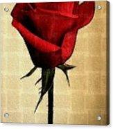 Silent Love Acrylic Print