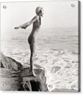 Silent Still: Bather Acrylic Print