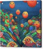 Sillyfish 2 Acrylic Print by Barbara Stirrup