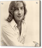 Singer Barry Manilow 1975 Acrylic Print