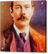Sir Arthur Conan Doyle, Literary Legend Acrylic Print