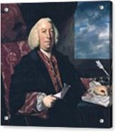 Sir James Hodges Acrylic Print