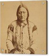 Sitting Bull 1831-1890, Lakota Sioux Acrylic Print by Everett