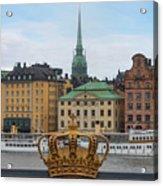 Skeppsholmsbron - Stockholm Acrylic Print