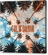 Skies Of California Acrylic Print