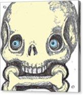 Skullnbone Acrylic Print