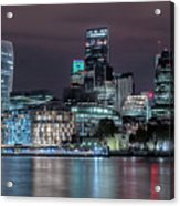 Skyline Of London Acrylic Print