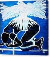 Slain In The Holy Spirit Acrylic Print