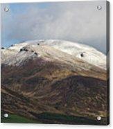 Slieve Mish Mountain In Snow Acrylic Print