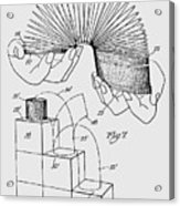 Slinky Patent 1947 Acrylic Print