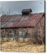 Small Barn Acrylic Print