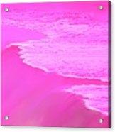 Smooth Pink Acrylic Print