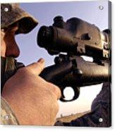 Sniper Acrylic Print