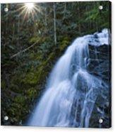 Snow Creek Falls Acrylic Print