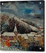 Snow In Bohan Acrylic Print