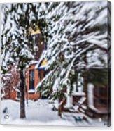 Snow... Acrylic Print