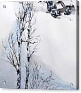 Snow Time Acrylic Print