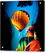 Soarin Beauty Acrylic Print