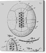 Soccer Ball Patent  1928 Acrylic Print