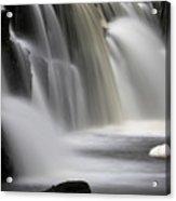 Soft Clare Glen's Waterfall Ireland Acrylic Print