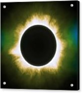 Solar Eclipse In Infrared Acrylic Print
