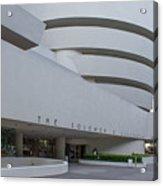 Solomon S Guggenheim Museum Acrylic Print