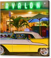 South Beach Classic Acrylic Print