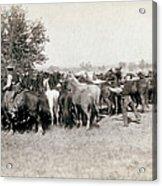 South Dakota: Cowboys Acrylic Print