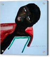South Sudan Bride Acrylic Print
