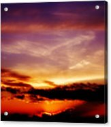 Southern Sunset Acrylic Print