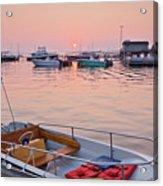 Southwest Harbor Sunrise Acrylic Print