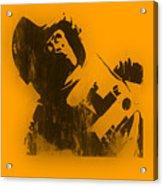 Space Ape Acrylic Print by Pixel Chimp