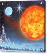 Space Art 2 Acrylic Print by Lane Owen