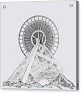 Space Needle- Looking Up Acrylic Print