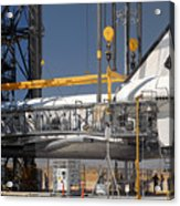 Space Shuttle Discovery At Edwards Afb September 17 2009 Acrylic Print
