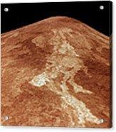 Space: Venus, 1991 Acrylic Print