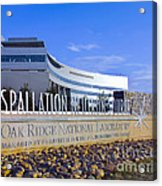 Spallation Neutron Source Acrylic Print